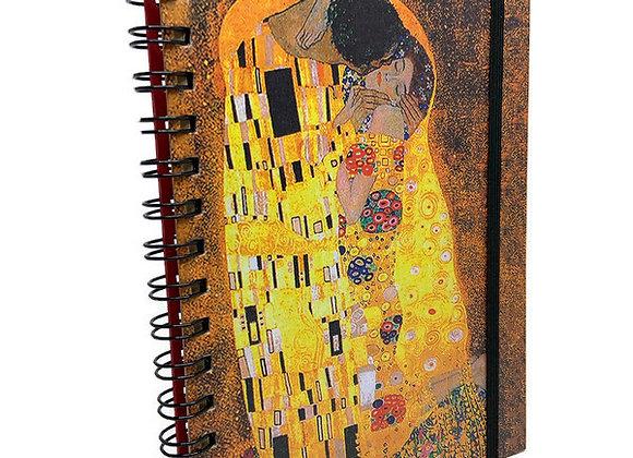 Caderno Gustav Klimt