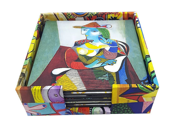 Porta Copos Pablo Picasso