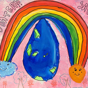 Save Water Save Life, Mabel Lam, Age 8,