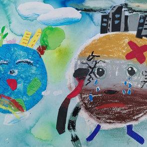 A good earth and a bad earth,Yuxuan Zhan