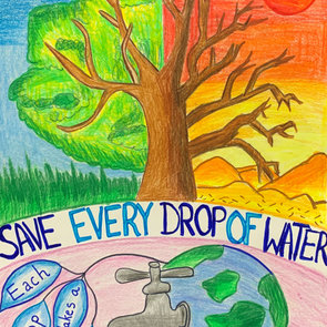 Every drop makes a difference, Shaurya K
