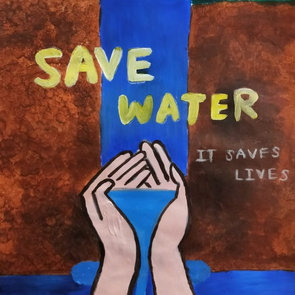 save water, it saves lives, Sophie Chong