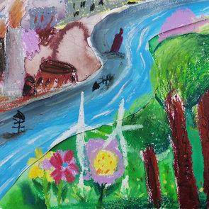 Love the earth,Yuxin Qu,Age6.jpeg