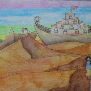 Noah's desert ark, Peishan Wang, Age11.j