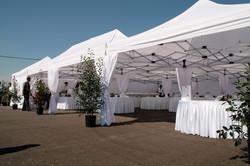 Аренда шатров белого цвета 32х16