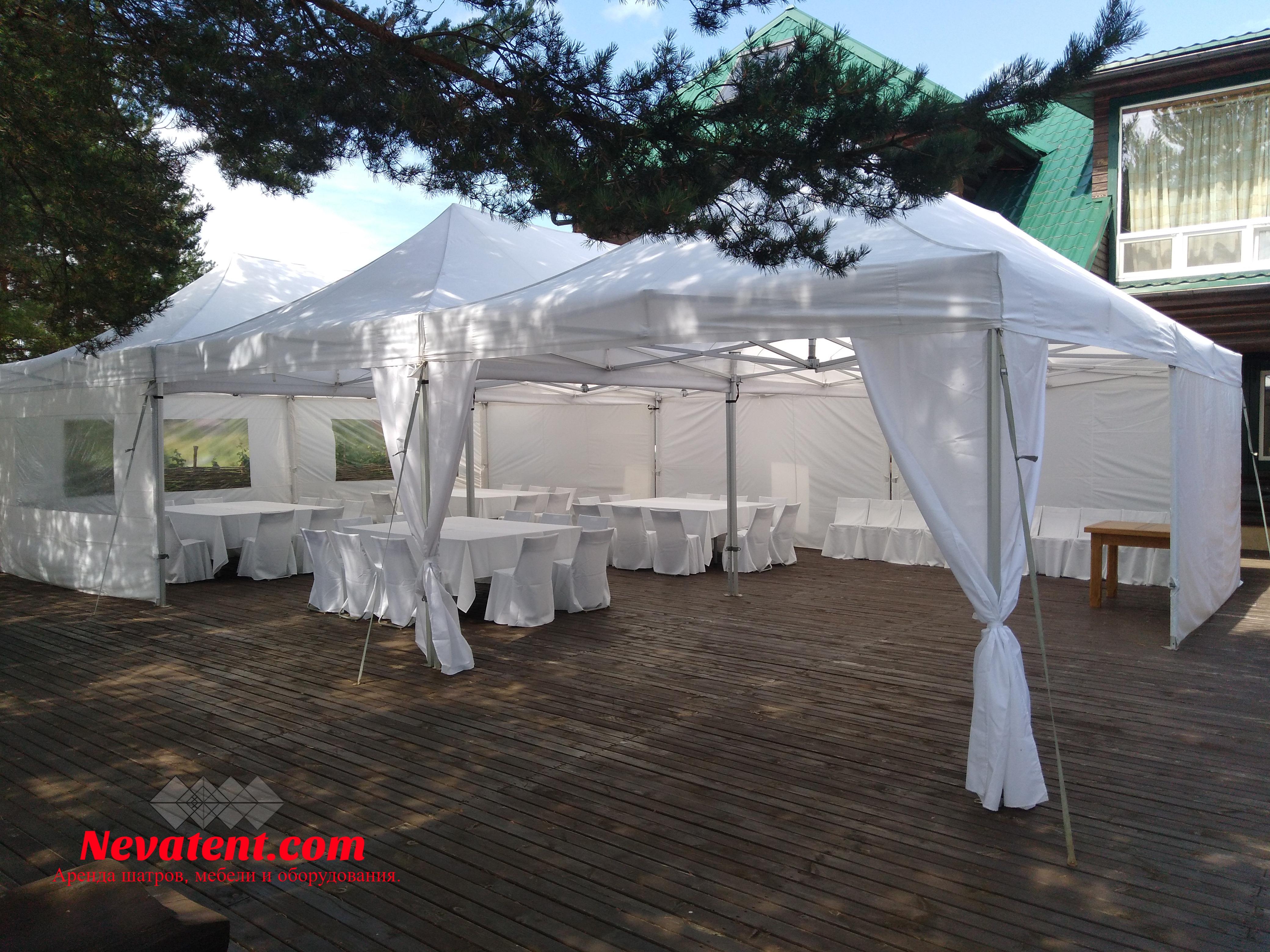 Свадебный шатёр на 100 человек