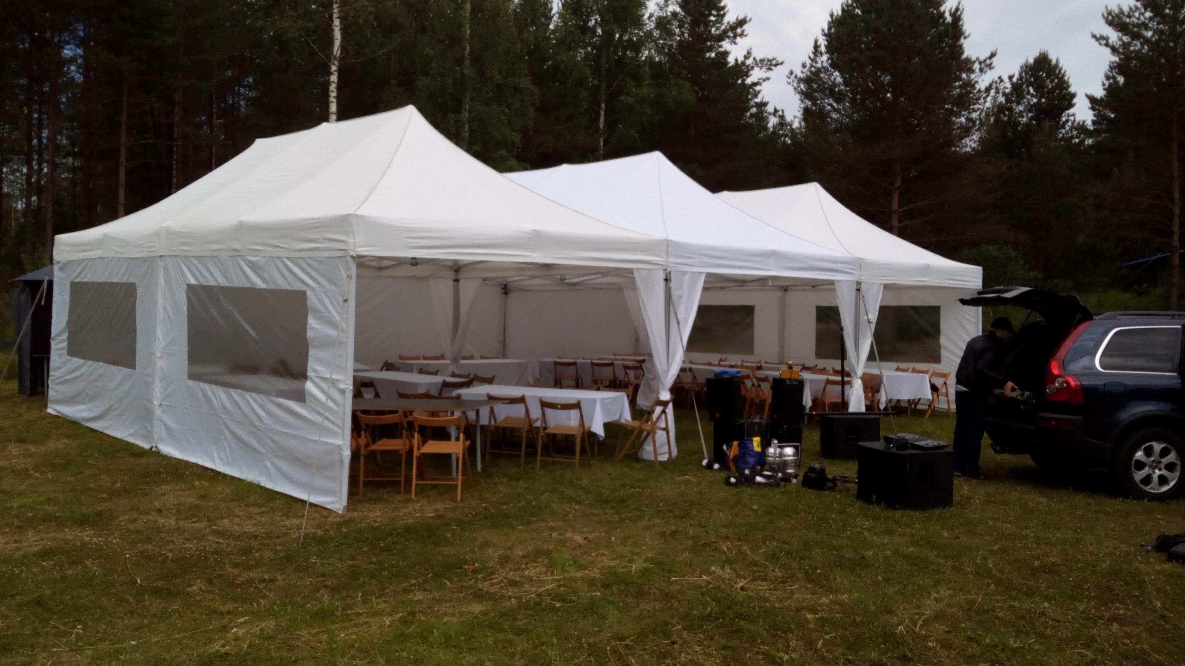Свадебный шатёр.