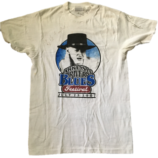 1987 Arkansas River Blues Festival T-Shirt