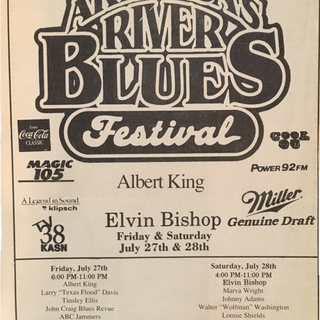 4th Annual Blues Fest Advertisement