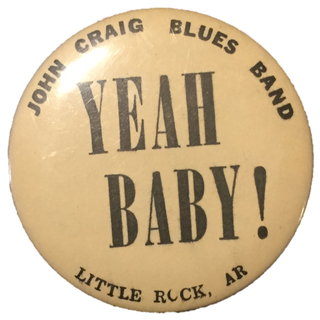 John Craig Blues Band Pin