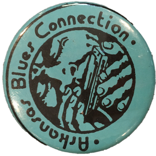 Arkansas Blues Connection Pin #1