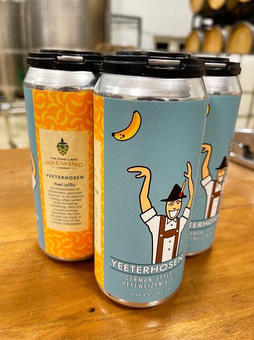 4 Pack of Yeeterhosen (1 pint cans)