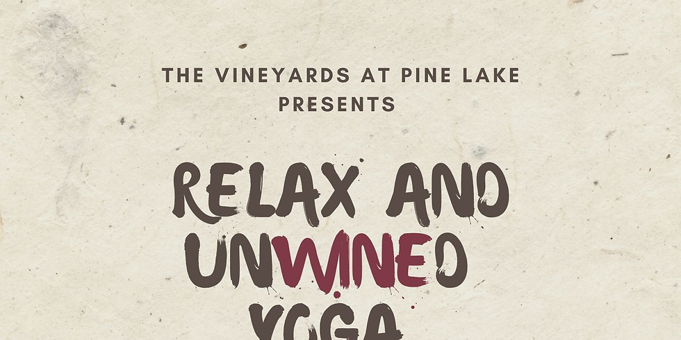 Relax and UnWINEd Yoga - October-Feburary