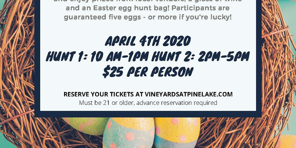 Adult Easter Egg Scramble