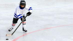 Wintersport auf Eis
