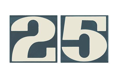 """Schwinn """"Alphabet"""" House Numbers"""