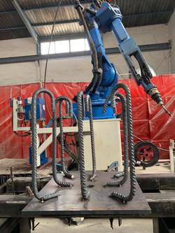 placas de anclaje robotizadas