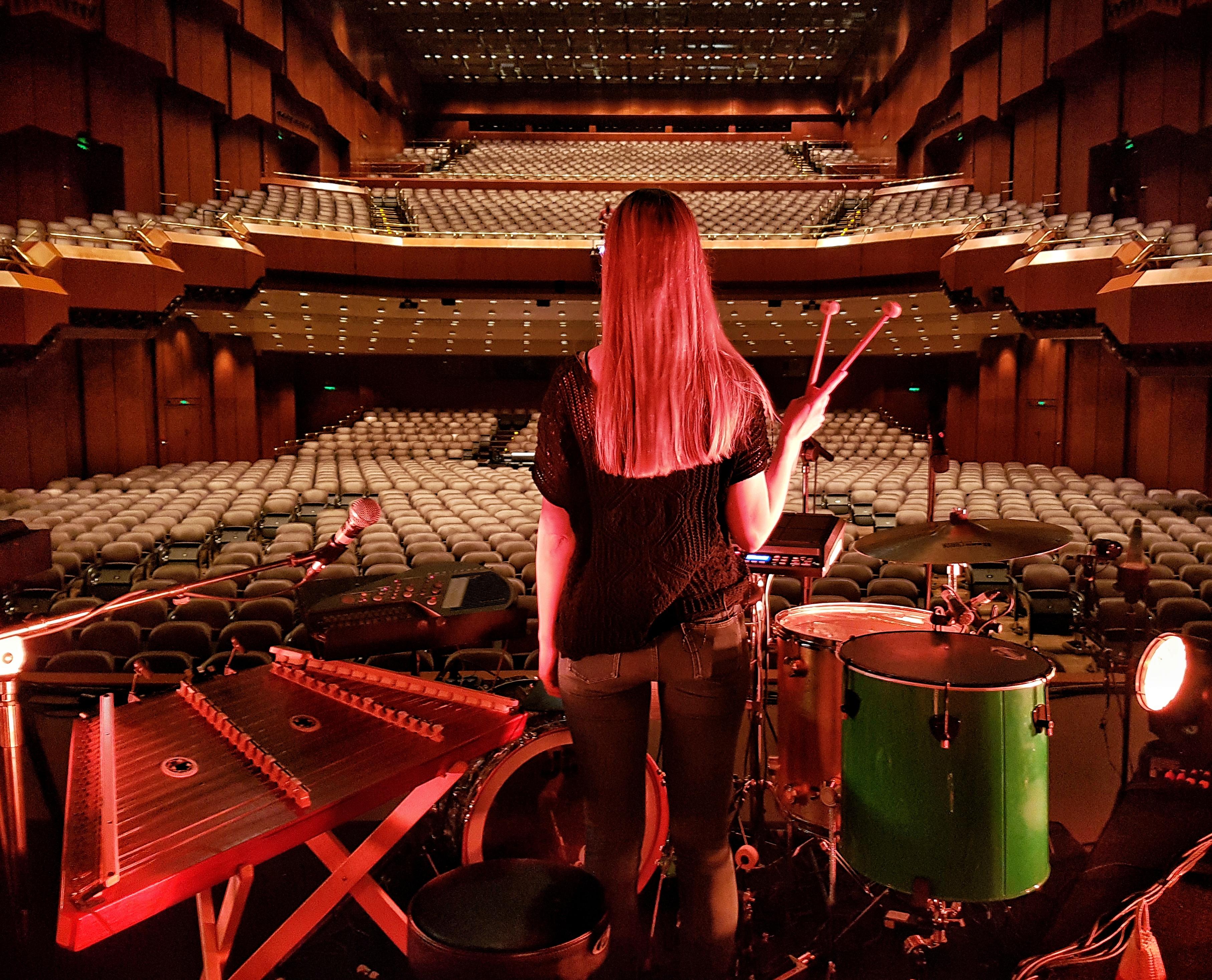 Soundcheck in Frankfurt, Agnes Obel