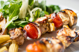 Chicken Shish Kebab with Veggies