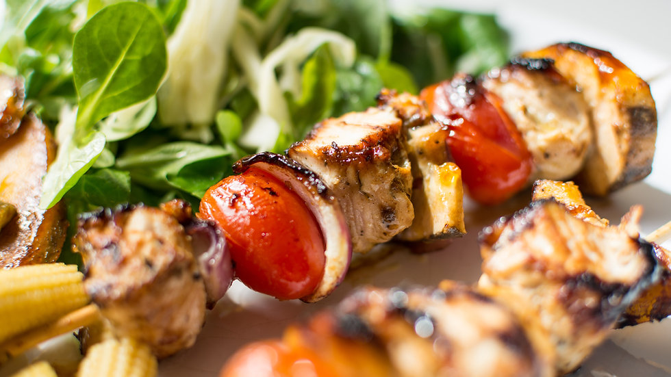 Tuscany Grilled Chicken Skewers