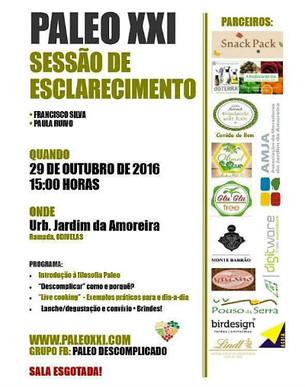 Monte Barrão Moments na Sessão PALEO XXI