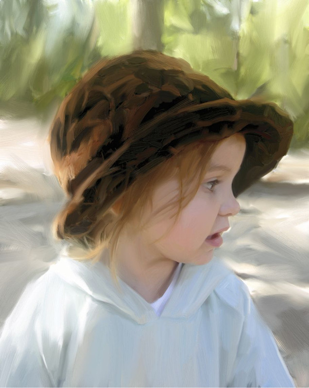 Portrait of Kid