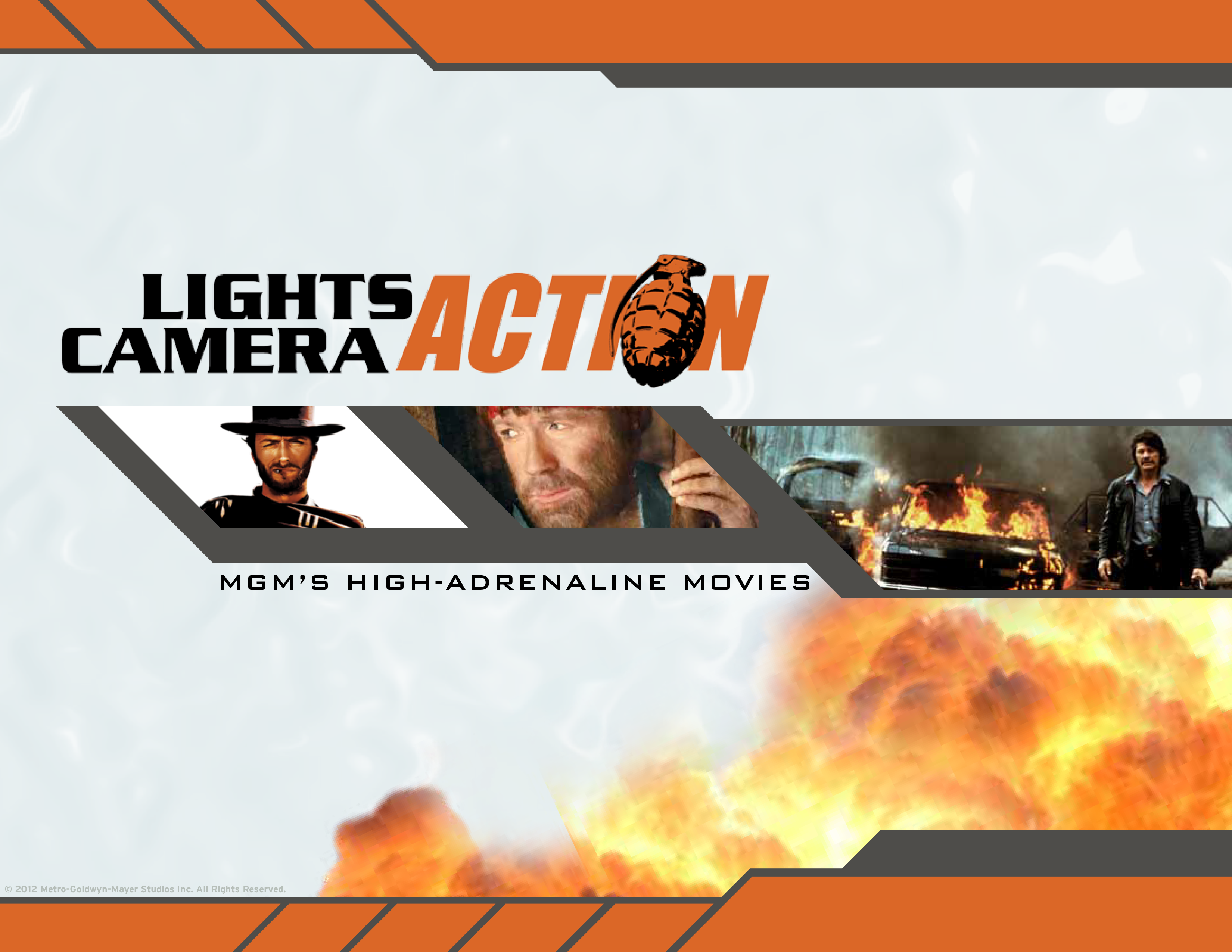 Lights, Camera, Action Cover