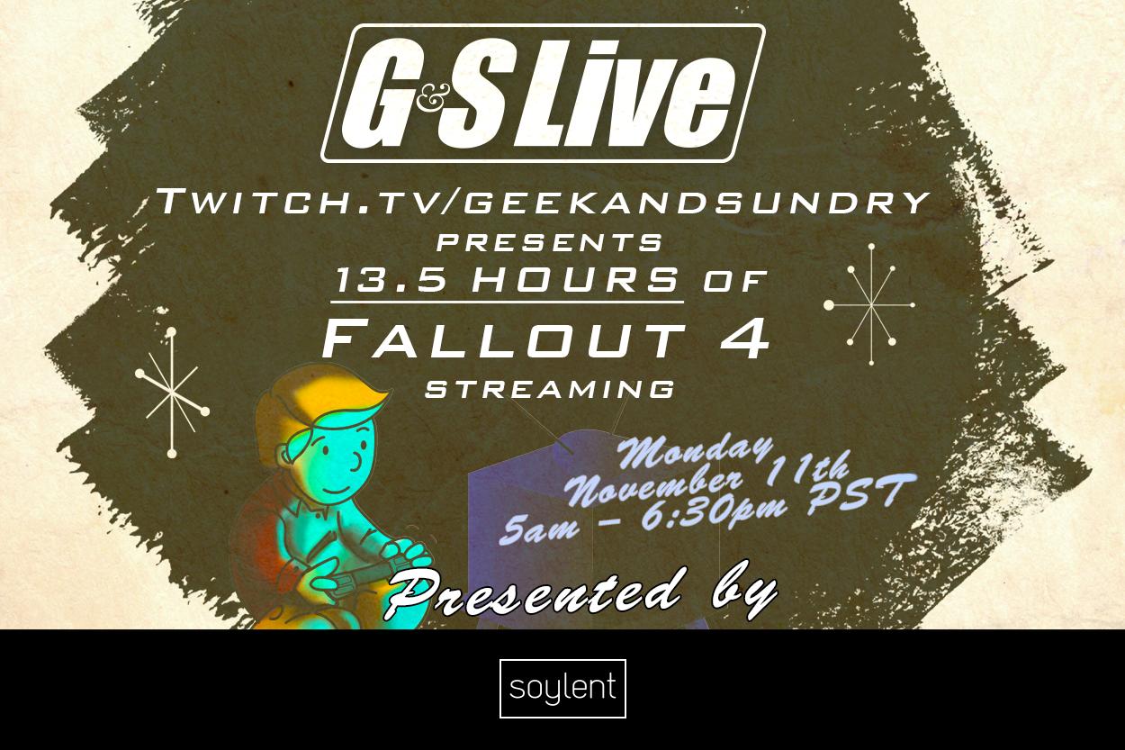 Fallout 4 Livestream