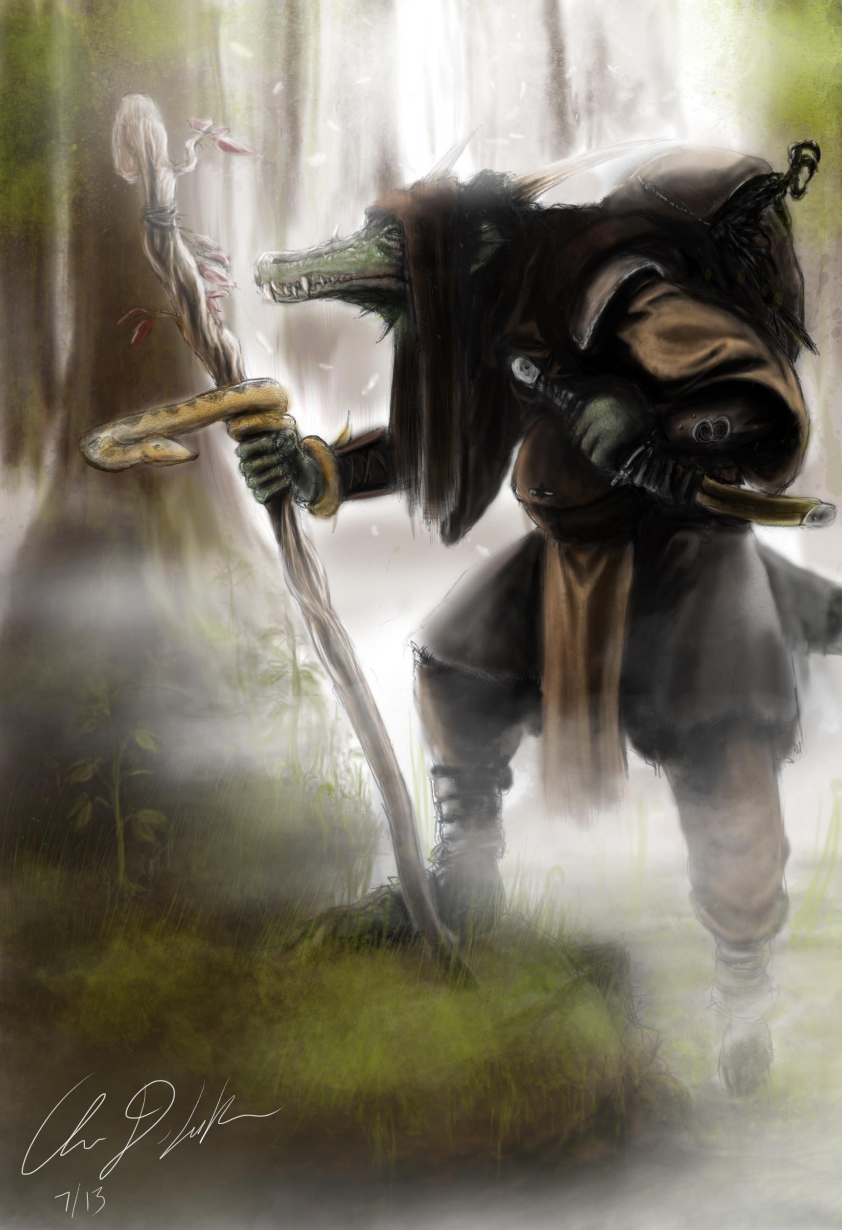 Lizardman Druid