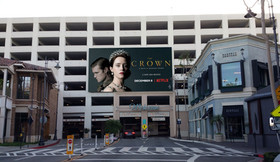 The Crown - Garage Signage - The Grove