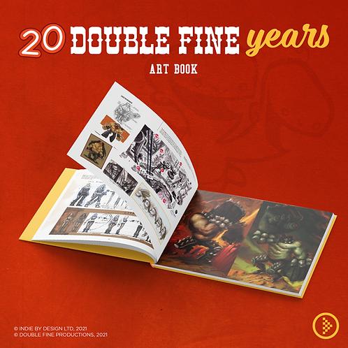 Double Fine - 20th Anniversary Artbook