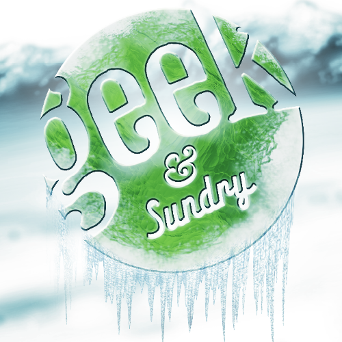 Geek & Sundry Winter theme