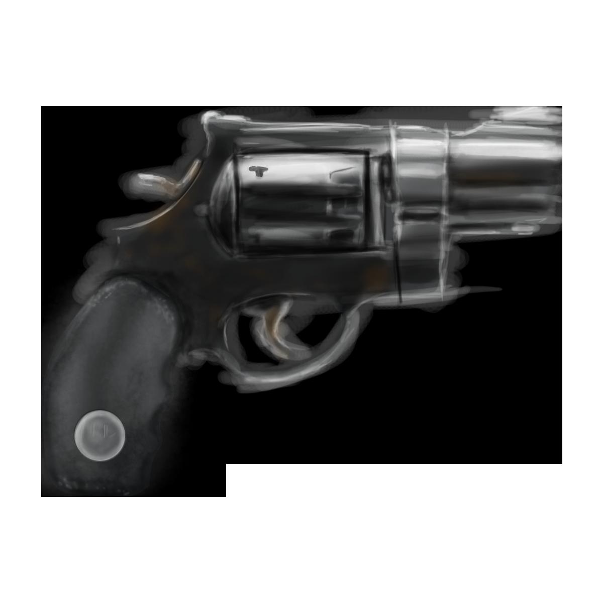 snub nose revolver