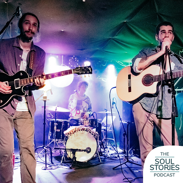 The band Kiltro sits down for an interview on the Soul Stories Podcast where they discuss their muscal journey and the power of musical connection