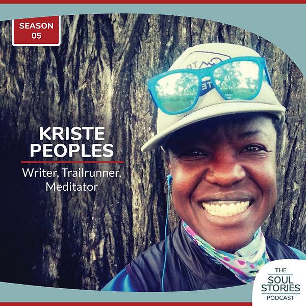 Kriste Peoples Writer, trailrunner, meditator