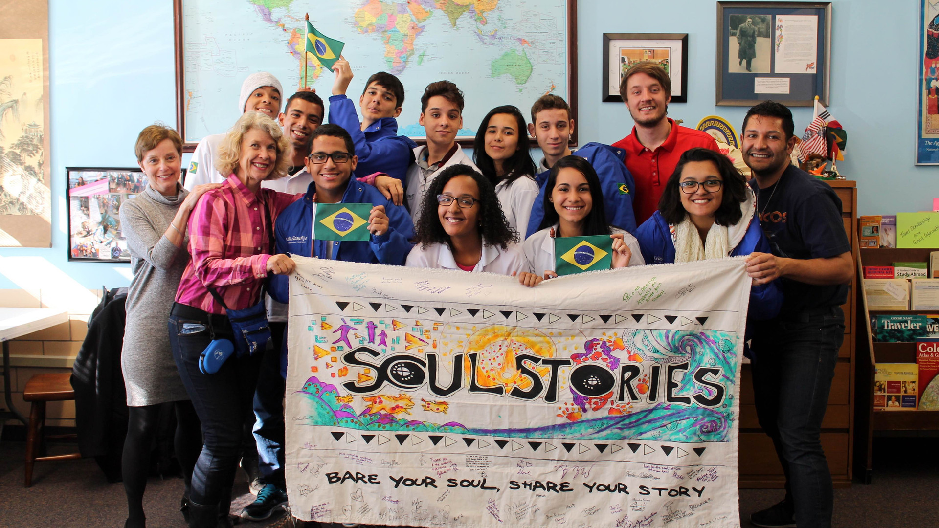 US-Brazil Connect and Soul Stories