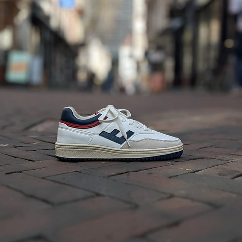 flamingo's life: retro 90's in white, navy, red, bicolor
