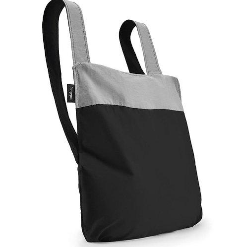 notabag - black grey