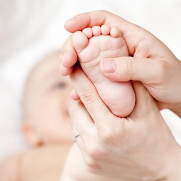 Massez votre bébé tout en douceur