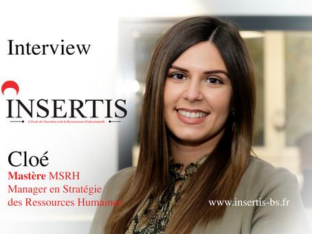 Interview : Cloé | Mastère MSRH