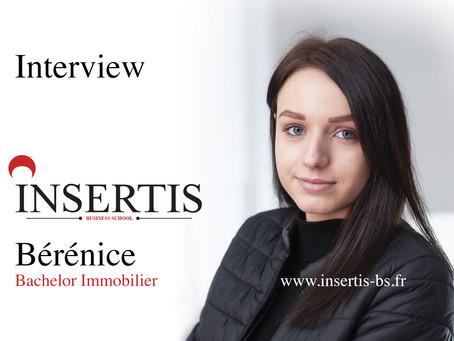 Interview : Bérénice | Bachelor Immobilier