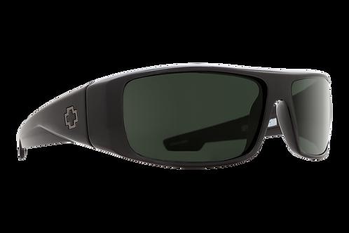 Spy Optic Logan Shiny Black Grey Green Non Polarized