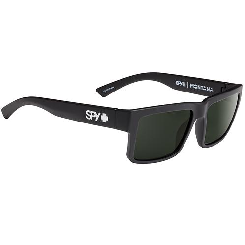 Spy Optic Montana Soft Black Grey Green Lenses