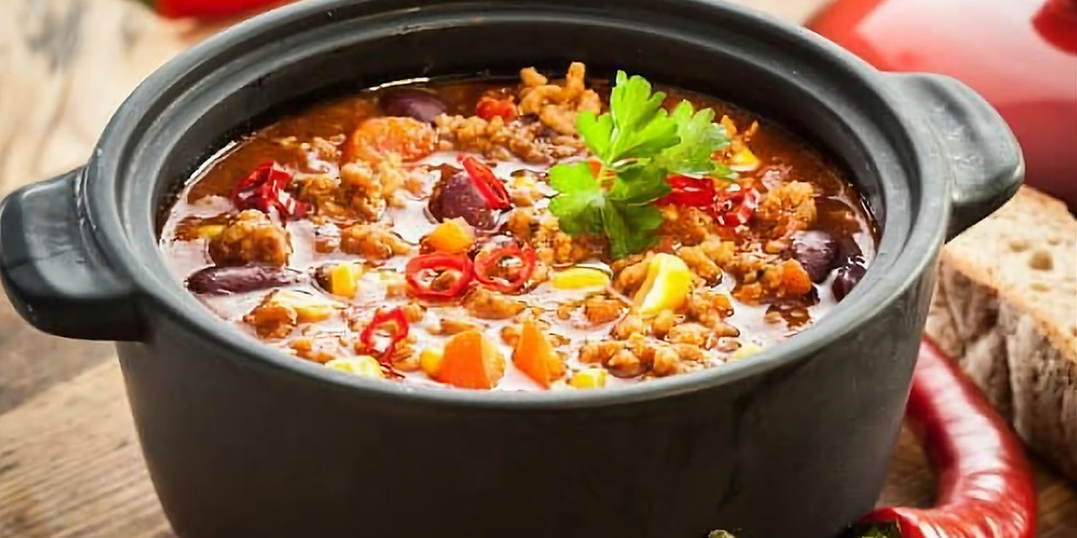 CHILI SUPPER followed by regular evening service