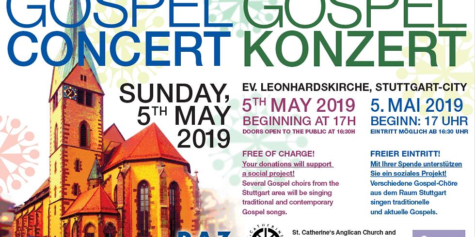 12th American-German Gospel Concert at Ev. Leonhardskirche