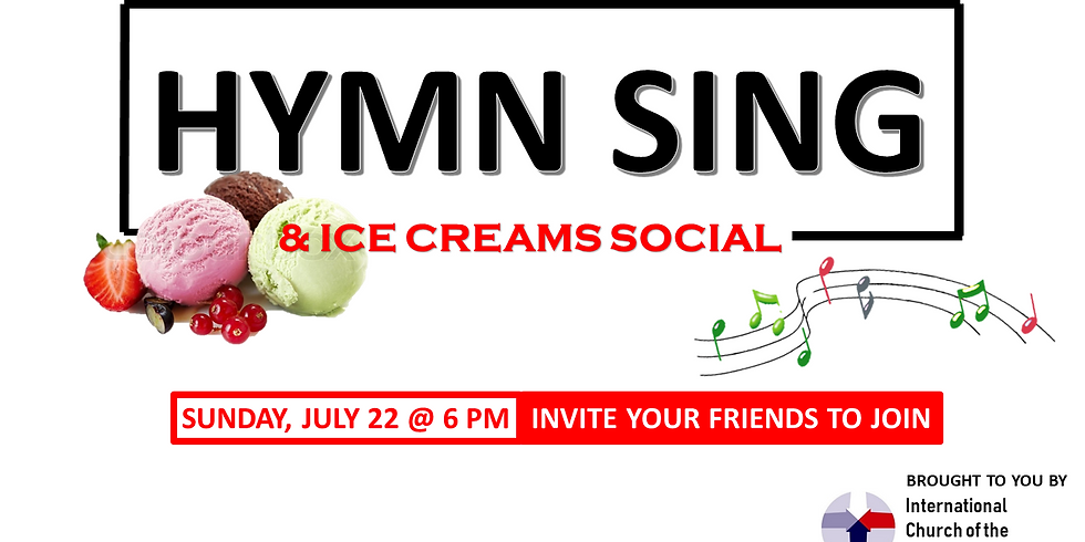 Hymn Sing and Ice Cream Social