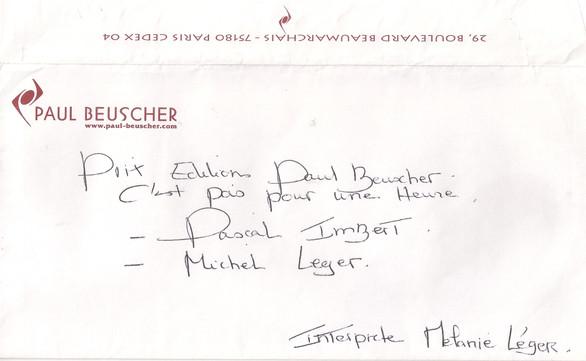 Prix Paul Beuscher Mélanie Léger