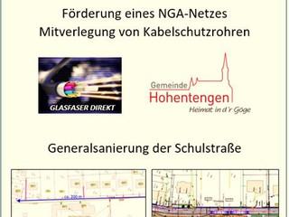 Breitbandoffensive 4.0 in Hohentengen