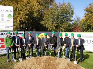 Spatenstich für Neubau SRH-Fernhochschule in Riedlingen