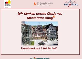 Zukunftswerkstatt Meßkirch 06.10.2015
